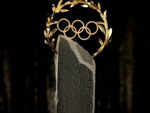 THE OLYMPIC LAUREL: A new trophy made of Fairmined Gold