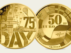 D-day is celebrated with Fairmined coins by Monnaie de Paris