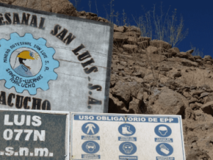 San Luis will not recertify with the Fairmined Standard